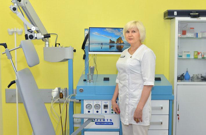 Процедурная медсестра Татьяна Москоленко