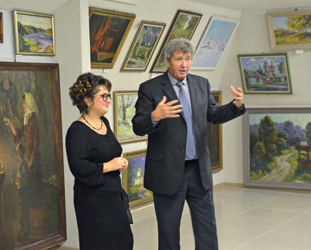 Торжественное открытие галереи