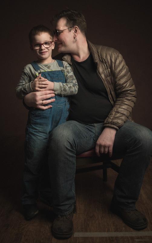 С сыном Макаром