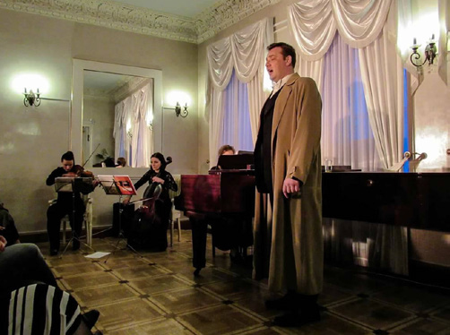 Моноспектакль «Маска и душа» о творчестве Фёдора Шаляпина